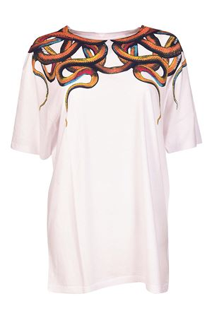 T-shirt oversize stampa Snake MARCELO BURLON | 8 | CWAA016R180470020188
