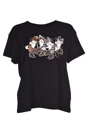 Minni Quartet T black jersey Tee MARCELO BURLON | 8 | CWAA030S180472611088