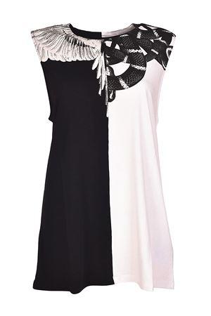 Canotta bianca e nera con serpente MARCELO BURLON | 8 | CWAC013R180470210188