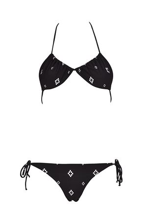 All over Cross two-piece bikini MARCELO BURLON | 23 | CWFA005R186950378800