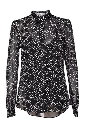 Star patterned georgette shirt MICHAEL DI MICHAEL KORS | 6 | MH74LC682E048
