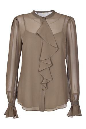 Ruffled georgette shirt MICHAEL DI MICHAEL KORS | 6 | MH74LC94ZB305