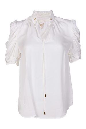 Blusa di seta con maniche a sbuffo MICHAEL DI MICHAEL KORS | 10000004 | MH74LCYVY0100