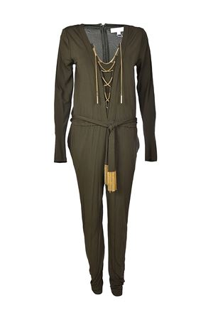 Golden chain detailed jumpsuit MICHAEL DI MICHAEL KORS | 19 | MH78XJX7AW345