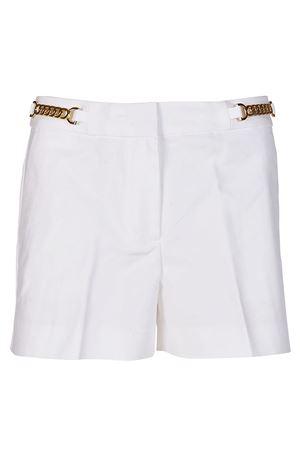 Chain detailed white shorts MICHAEL KORS | 30 | MS83GZ7C64100