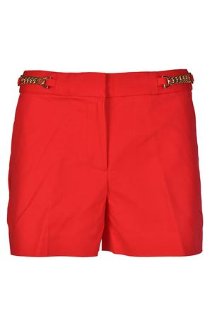 Chain detailed red shorts MICHAEL DI MICHAEL KORS | 30 | MS83GZ7C64611