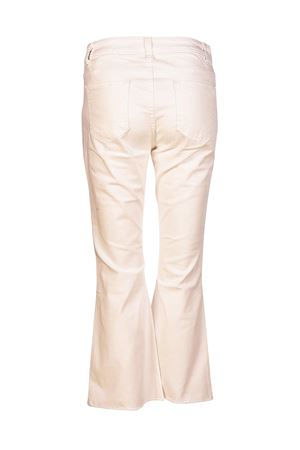 Crop flared white cotton jeans MICHAEL DI MICHAEL KORS | 24 | MS89CNZ4AM100