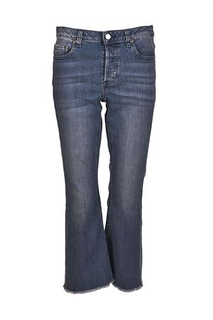 Jeans corti a zampa in denim MICHAEL KORS | 24 | MS89CNZ4V6496
