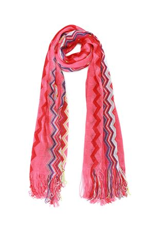 Chevron viscose knit scarf MISSONI | 61 | SA57VID65440002