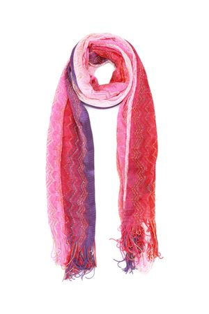 Glowing chevron fringed scarf MISSONI | 77 | SA57VMD65550001