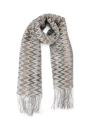 See-through two-tone chevron scarf MISSONI | 77 | SC31VID65270004