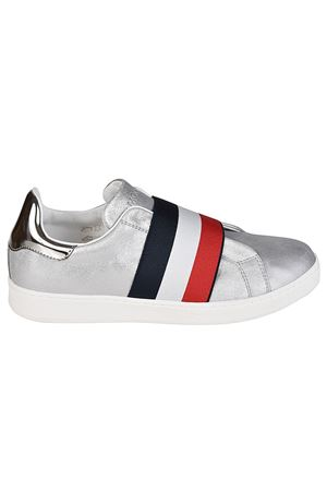Alizee silver slip-on sneakers MONCLER | 5032238 | 2039200019K8103