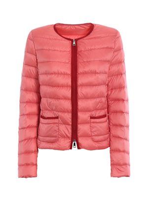 Cristal pink light down jacket MONCLER | 783955909 | 453279953048417