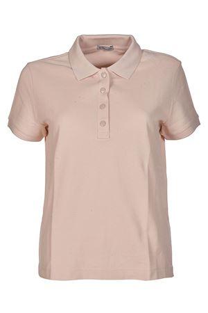 Pique polo shirt with vents MONCLER | 2 | 839060084667529