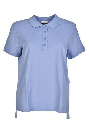 Vents detailed cotton polo shirt MONCLER | 2 | 83906008466770C