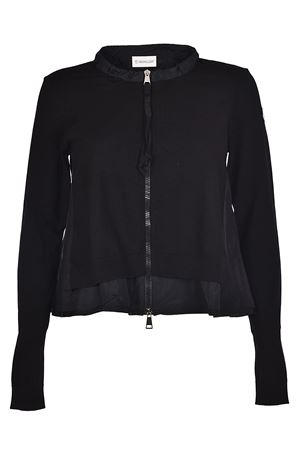 Lined viscose cardigan MONCLER | 39 | 9485800999CH999