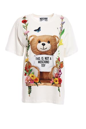 Printed cotton oversized Tee MOSCHINO | 8 | 07050440V1001