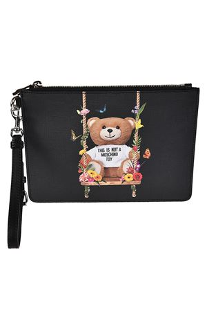 Not A Moschino Toy black pouch MOSCHINO | 10000014 | 84468210A2555