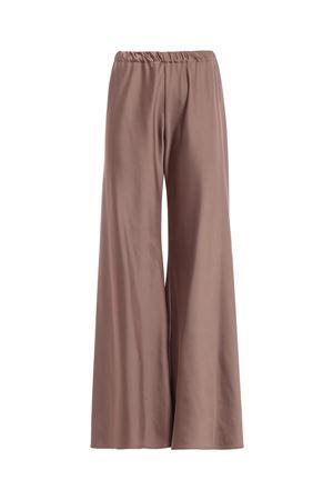 Pantaloni palazzo in raso bronzo PAOLO FIORILLO CAPRI | 20000005 | 0722128155615