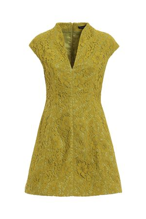 Lime lace flared dress PAOLO FIORILLO CAPRI | 11 | 079012652LIME