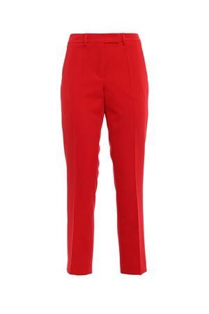 Pantaloni stretch rossi a sigaretta PAOLO FIORILLO CAPRI | 20000005 | 1328BI2234ROSSO