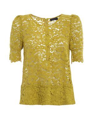 Blusa in pizzo color lime PAOLO FIORILLO CAPRI | 10000004 | 1814F2652LIME