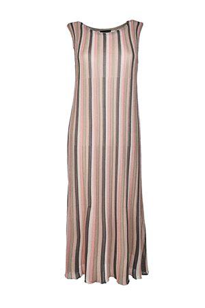Striped knitted viscose dress PAOLO FIORILLO CAPRI | 11 | 553012182