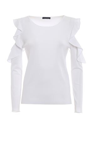 Ruched cut out T-shirt PAOLO FIORILLO CAPRI | 7 | 590290001