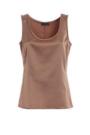 Top in raso color bronzo PAOLO FIORILLO CAPRI | 40 | 978128155615