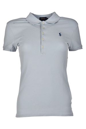 Polo slim fit in cotone grigio POLO RALPH LAUREN | 2 | 211505654121