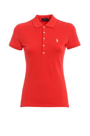 Slim fit red cotton polo shirt POLO RALPH LAUREN | 2 | 211505654122