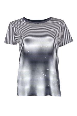 Paint-Splatter Striped T-Shirt POLO RALPH LAUREN | 8 | 211696568001