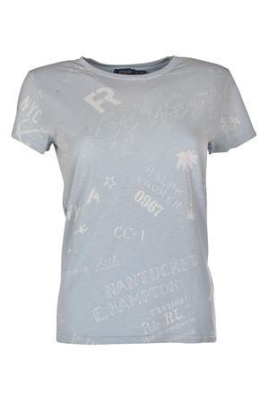 Nautical-Print Cotton T-Shirt POLO RALPH LAUREN | 8 | 211696625001