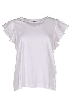 T-shirt con maniche in pizzo POLO RALPH LAUREN | 8 | 211696958001