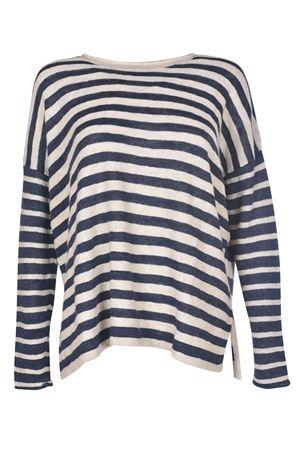 Striped Linen-Blend Sweater POLO RALPH LAUREN | 7 | 211697224001