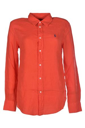 Relaxed Fit Linen Shirt POLO RALPH LAUREN | 6 | 211697460001