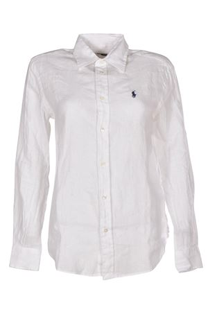 White linen shirt POLO RALPH LAUREN | 6 | 211697461001