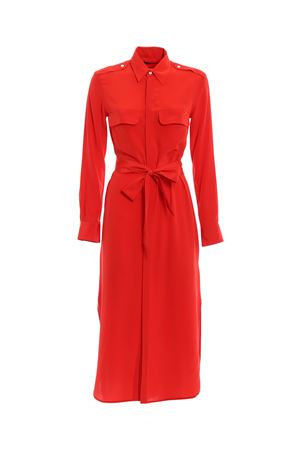 Silk crêpe de chine shirt dress POLO RALPH LAUREN | 11 | 211707985002