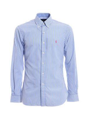 Camicia in cotone con logo rosa POLO RALPH LAUREN | 6 | 710695889011