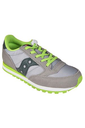 jazz original kids SAUCONY | 5032238 | SC58793GREYDARKGREEN