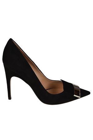 sr1 black suede pumps SERGIO ROSSI | 5032240 | A78951MCAZ011000
