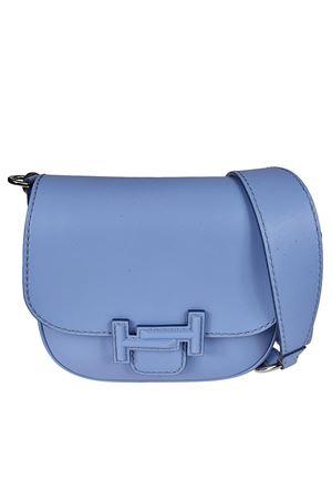 Double T light blue saddle bag TOD