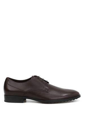 Brushed leather classic shoes TOD