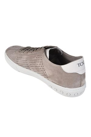 Drilled sides suede sneakers TOD