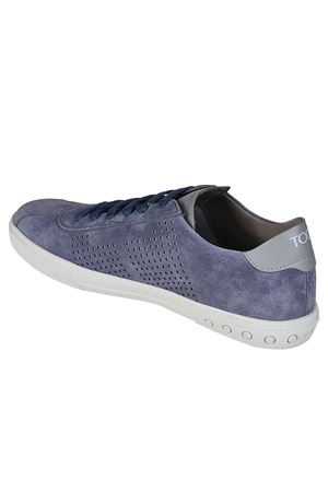 Suede sneakers with drilled details TOD