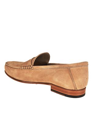 Suede loafers with penny bar TOD