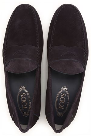 Suede classic loafers TOD