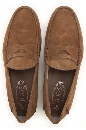 Leather and gommini sole loafers TOD