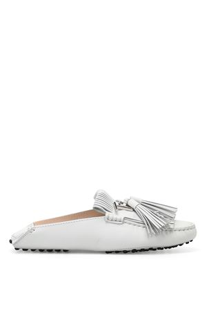 Gommino white leather slippers TOD