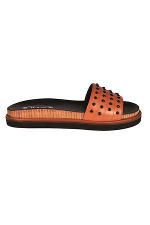 Sandalo in pelle XXW01B0Y680GOCS002 TOD